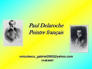 Paul Delaroche Peintre français