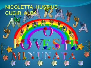 NICOLETTA  HUŞTIUC C UGIR ,  ALBA
