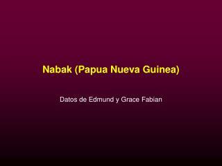 Nabak (Papua Nueva Guinea)