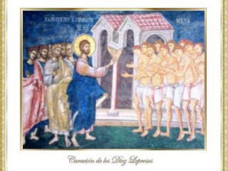 Yendo hacia Jerusalén,  atravesaba  por entre  Samaría  y Galilea,