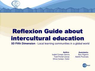 Reflexion Guide about intercultural education