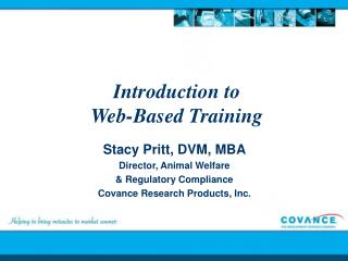 Introduction to  Web-Based Training