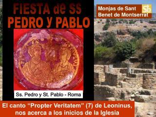 Monjas de Sant  Benet de Montserrat