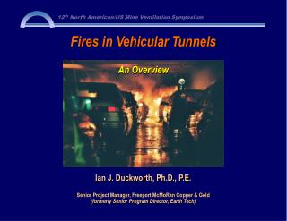 Fires in Vehicular Tunnels