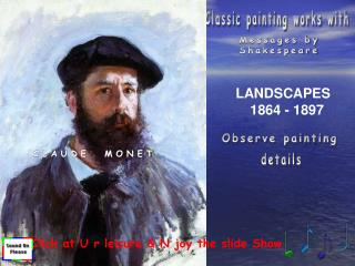 Classic painting works with