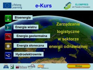 Zarządzanie  logistyczne w sektorze  energii odnawialnej