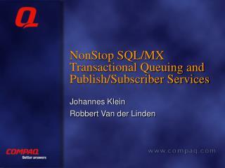 NonStop SQL