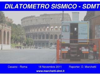 DILATOMETRO SISMICO - SDMT
