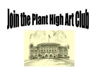 Join the Plant High Art Club