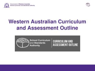 Western Australian Curriculum and Assessment Outline