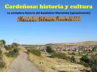 Carde�osa: historia y cultura