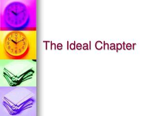 The Ideal Chapter