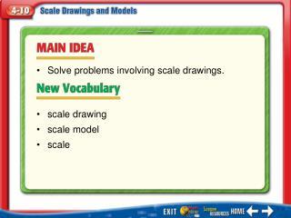 Main Idea/Vocabulary