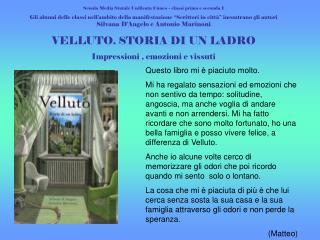 Scuola Media Statale Unificata Cuneo – classi prima e seconda I