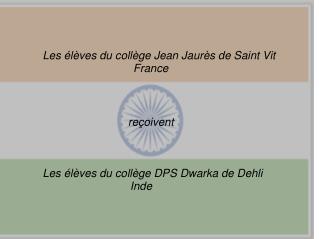 Les élèves du collège Jean Jaurès de Saint Vit                              France