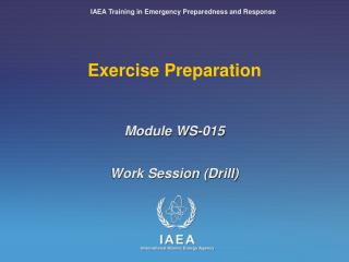 Exercise Preparation