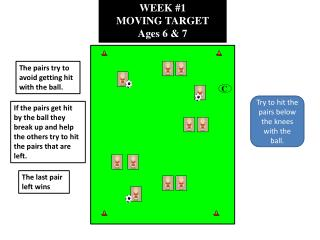 WEEK #1 MOVING TARGET Ages 6 & 7