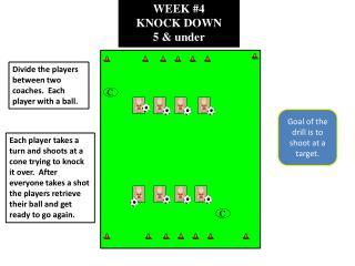 WEEK #4 KNOCK DOWN 5 & under