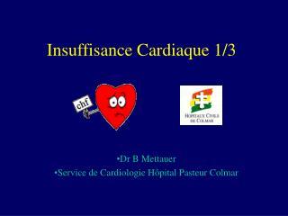 Insuffisance Cardiaque 1