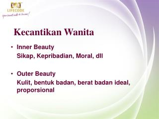 Kecantikan Wanita