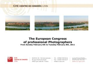 The European Congress  of professional Photographers