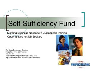 Merging Business Needs with Customized Training  Opportunities for Job Seekers