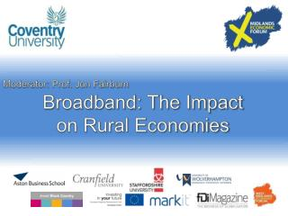 Broadband: The Impact on Rural Economies