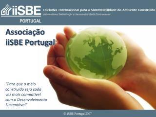 Associação iiSBE Portugal