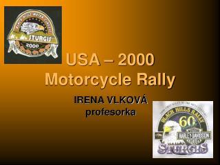USA – 2000 Motorcycle Rally