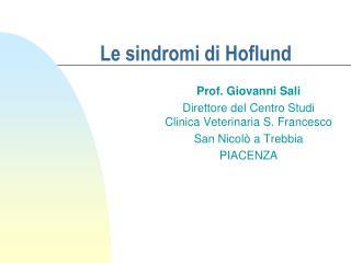 Le sindromi di Hoflund