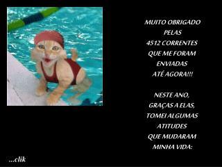MUITO OBRIGADO  PELAS  4512 CORRENTES  QUE ME FORAM  ENVIADAS  ATÉ AGORA!!! NESTE ANO,