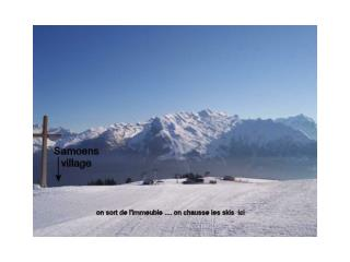 De la tête des Saix, on peut rejoindre Morillon ou Les Carroz .