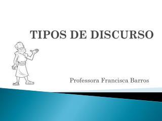 Professora Francisca Barros