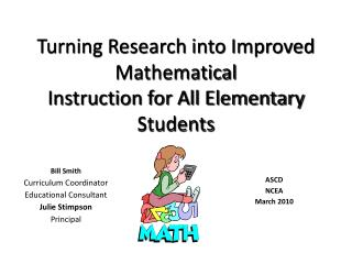 Turning Research into Improved Mathematical Instruction for All Elementary Students