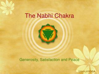 The Nabhi Chakra