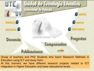 USE AND INTEGRATION OF ICT  IN HIGHER EDUCATION TEACHING AND  TEACHERS� PEDAGOGICAL PHILOSOPHY