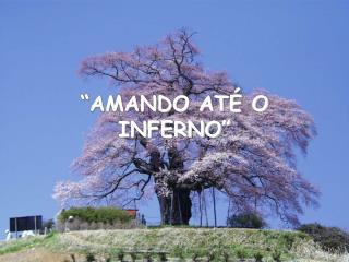 """""""AMANDO ATÉ O INFERNO"""""""
