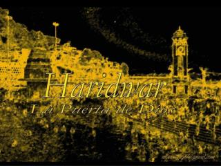 Har ki Pauri, el ghat más sagrado de Haridwar.