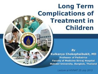 Long Term Complications of Treatment in Children