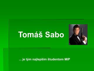 Tom áš Sabo