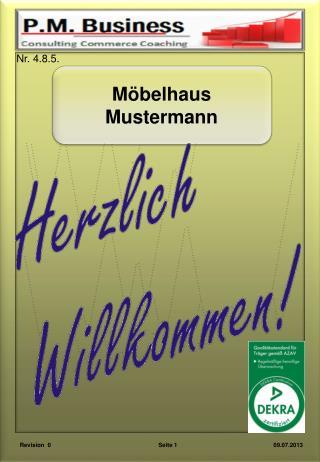 Möbelhaus Mustermann