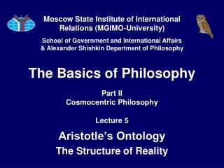 Aristoteles  Nicomachean Ethics