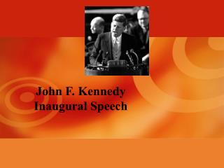 essays on john f. kennedy inaugural speech