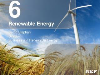 6 Renewable Energy