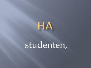studenten,