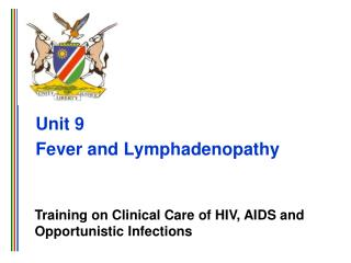 Unit 9 Fever and Lymphadenopathy