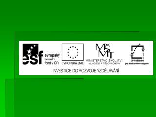 EU ICT2/1/1/11   Člověk a svět práce – 4.,5. ročník