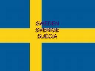 SWEDEN SVERIGE SUÈCIA