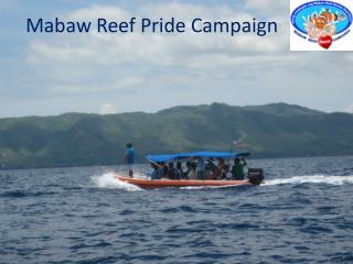 Mabaw Reef Pride Campaign