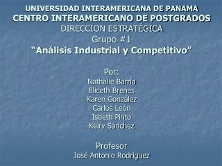 Todas las empresas funcionan en un MACROAMBIENTE, formado por: El Marco Económico del País.